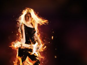 Guitar Chick_flames