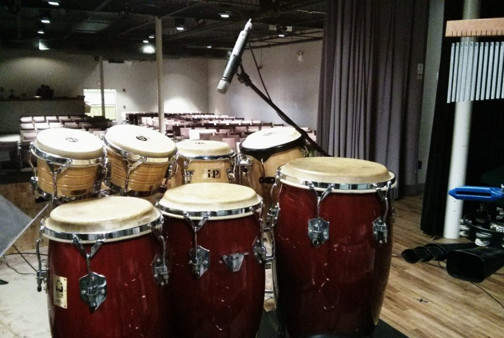 Next Stage percussion kit