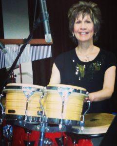 Dori on Percussion